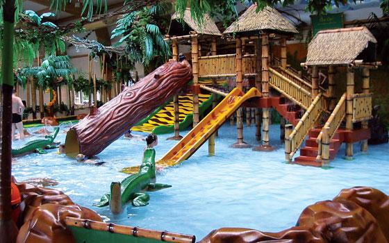 Zwembad Aqua Jungle