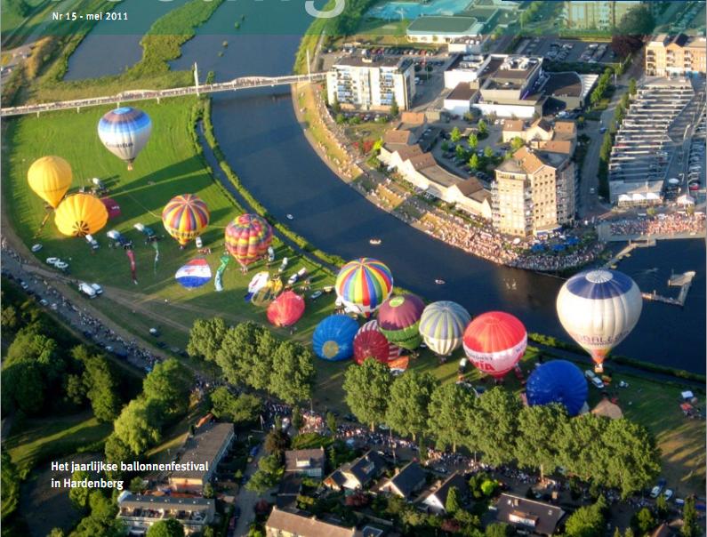 Ballonnenfestival 2011 te Hardenberg