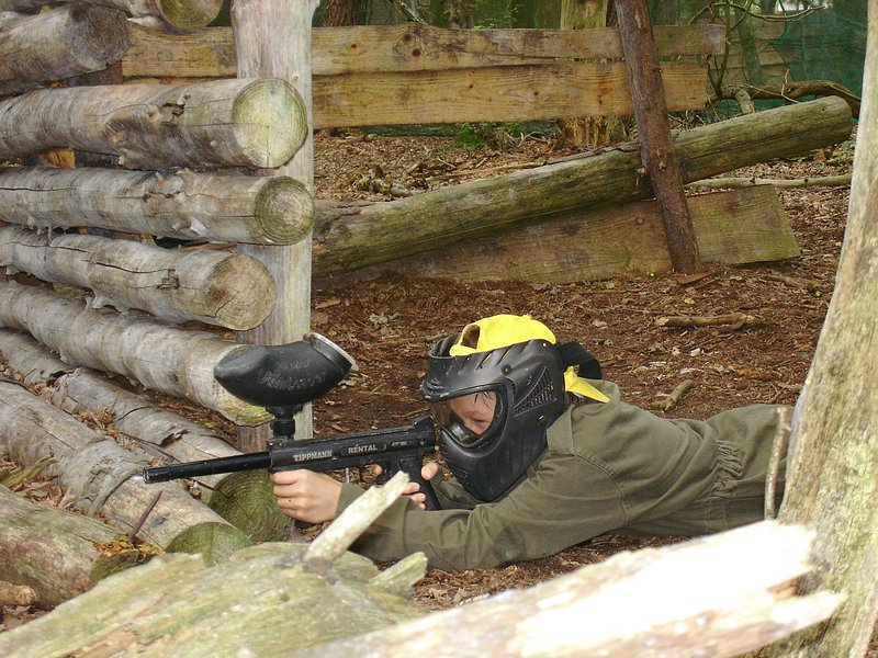 Total Outdoor, Paintballen